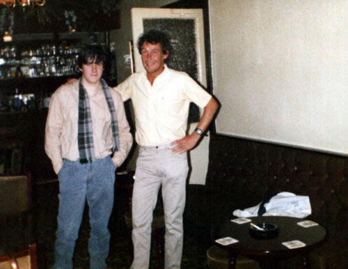 David and Christopher Coveney, Liverpool, 1986