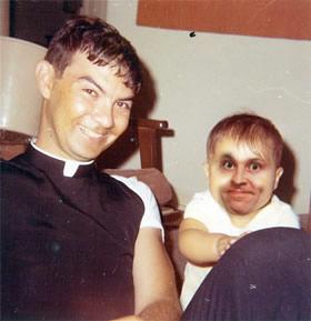 Priest & Baby