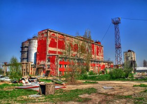 My site's not been quite as desolate this site in Sofia, Bulgaria, but...  (Image by niv, who at 2008-12-01 released it as CC Share Alike @ Flickr)