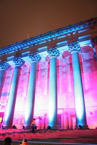 St. George's Hall, Liverpool - not the likely venue. Pic by Me.
