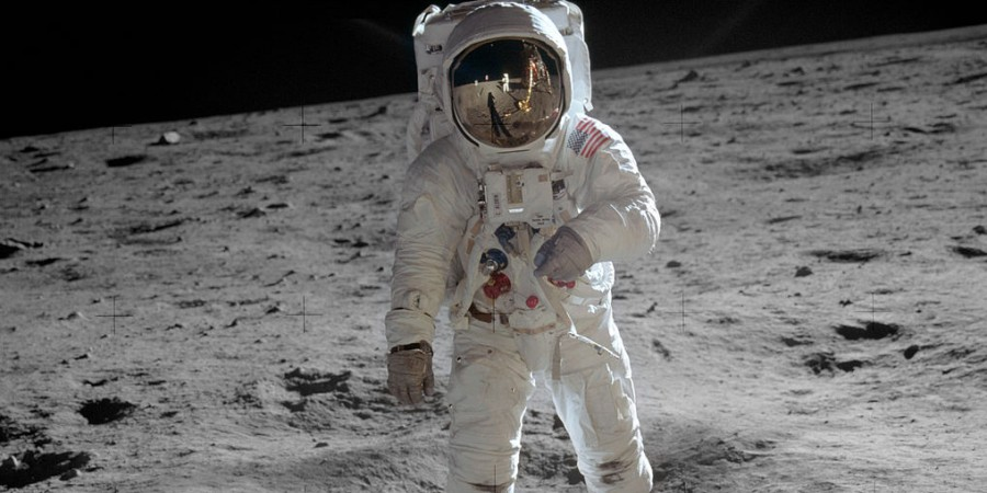 Buzz Aldrin - second man on the moon