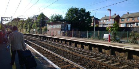Runcorn train station